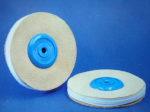 Buffing Wheels combined leather-cloth-leather SWK02100