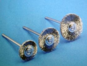Miniature brushes (MB-H), steel wire, 0.08 mm