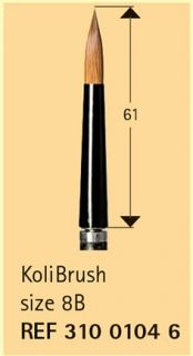 Quick Change instrument  KoliBrush size 8B