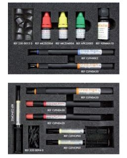 Chipping repair kit