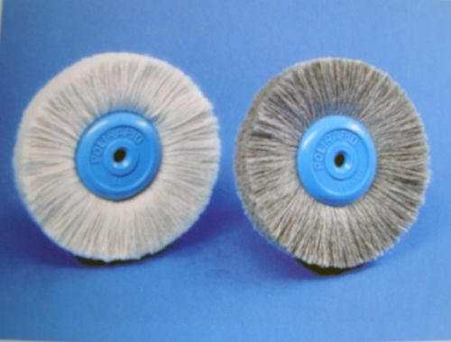 Circular Brushes, flax yarn grey SRB 31100, SRB 31200
