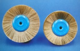 Circular Brush - brass wire SRB50100, SRB50200