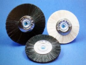 Lathe brushes - Chungking bristles black or white, SBA11100,SBA10100